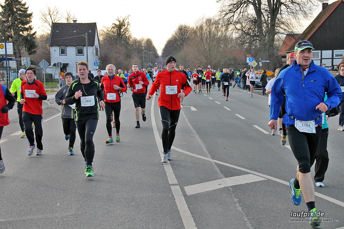 Silvesterlauf Werl Soest - Strecke 2013 - 811