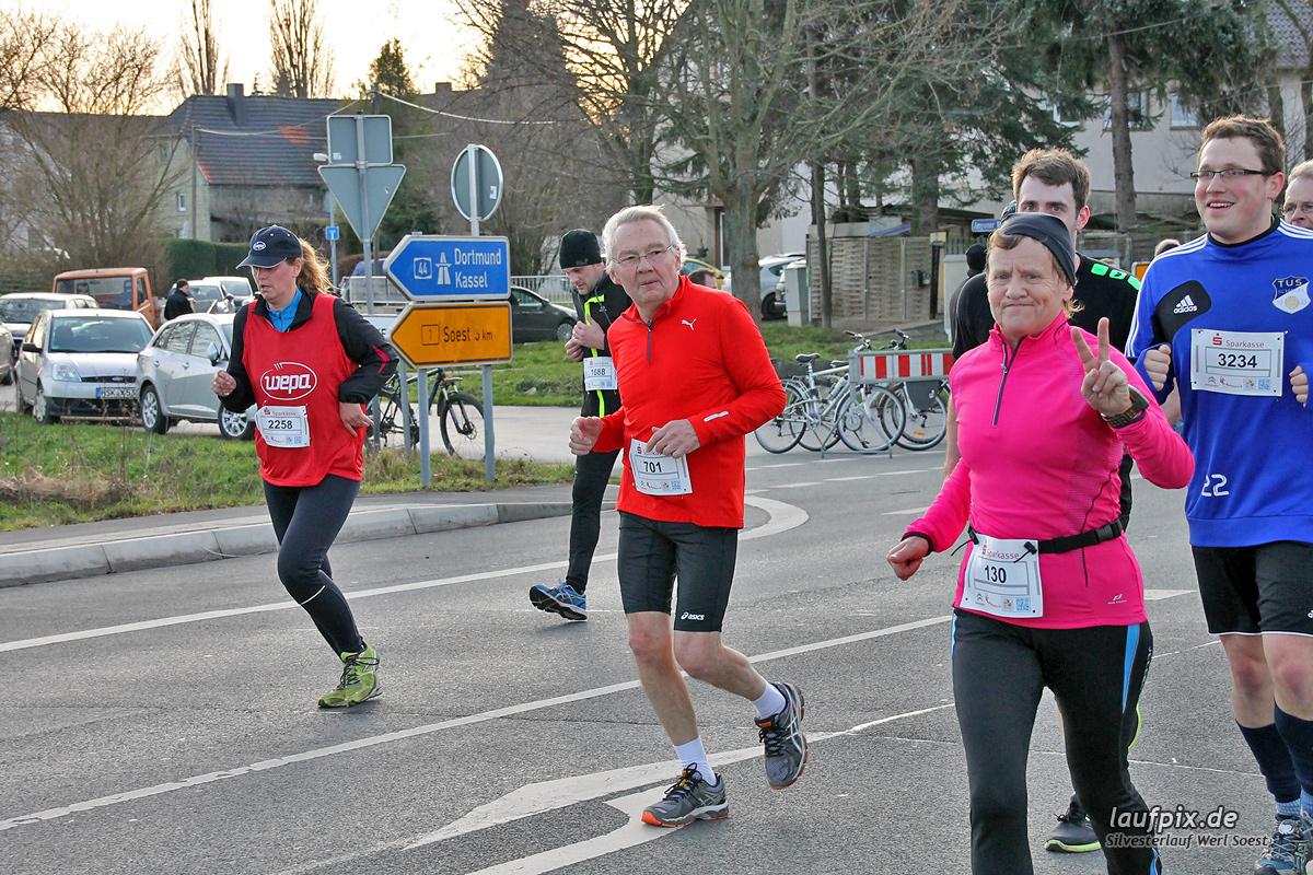 Silvesterlauf Werl Soest - Strecke 2013 Foto (1092)