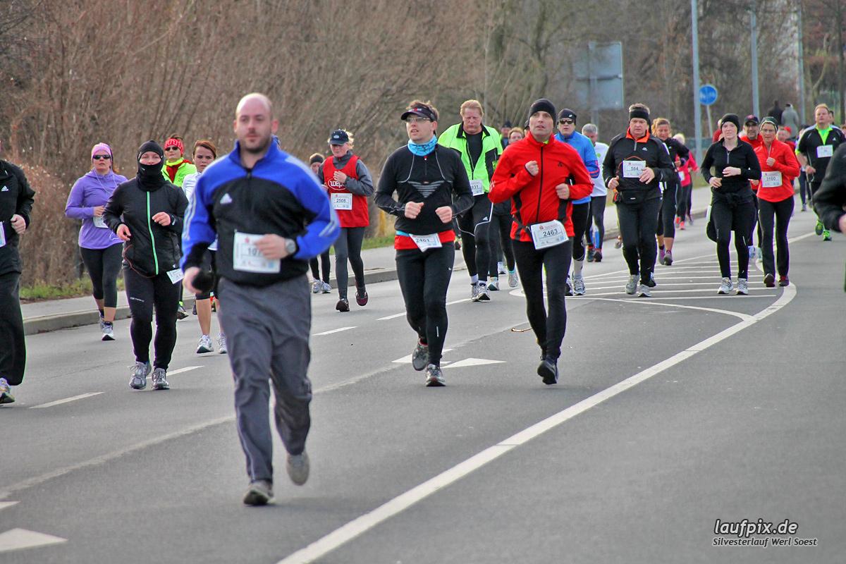 Silvesterlauf Werl Soest - Strecke 2013 - 1207