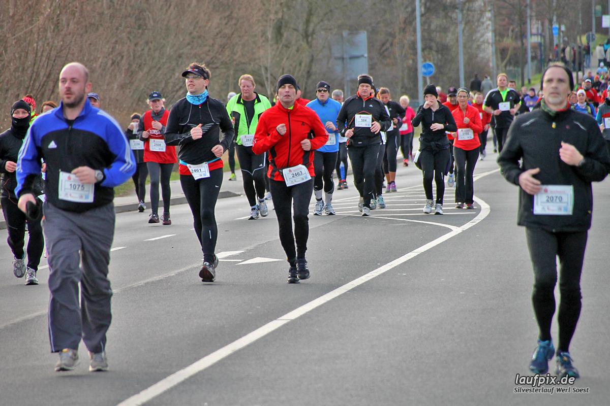 Silvesterlauf Werl Soest - Strecke 2013 - 1208