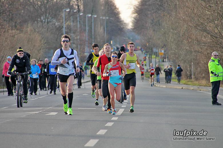 Silvesterlauf Werl Soest - Strecke 2013 - 35