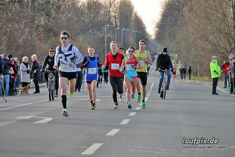 Silvesterlauf Werl Soest - Strecke 2013 - 38
