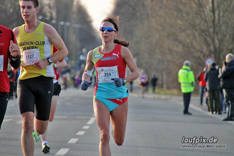 Silvesterlauf Werl Soest - Strecke 2013 - 40