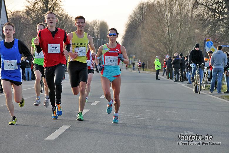 Silvesterlauf Werl Soest - Strecke 2013