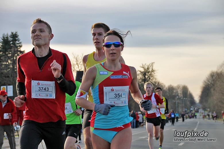 Silvesterlauf Werl Soest - Strecke 2013 - 44