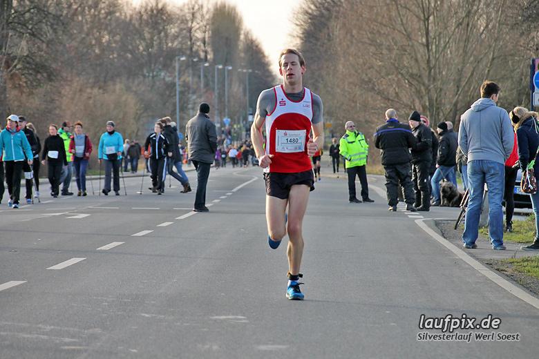 Silvesterlauf Werl Soest - Strecke 2013 - 46