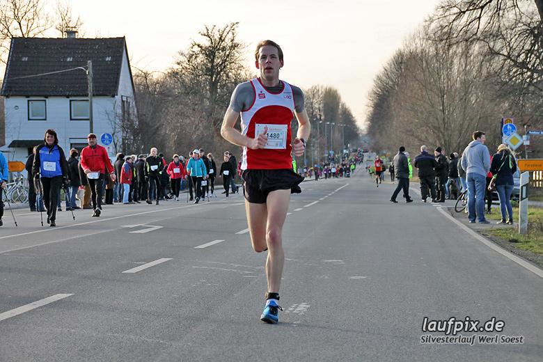 Silvesterlauf Werl Soest - Strecke 2013 - 48
