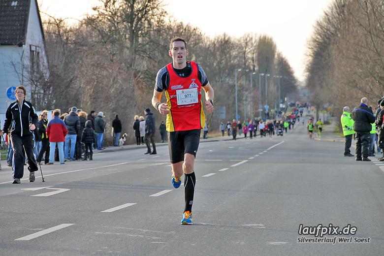 Silvesterlauf Werl Soest - Strecke 2013 - 52