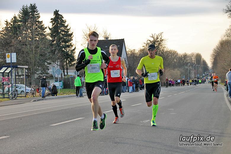 Silvesterlauf Werl Soest - Strecke 2013 - 56