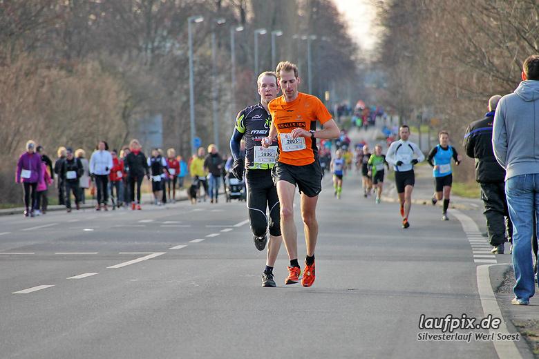 Silvesterlauf Werl Soest - Strecke 2013 - 57