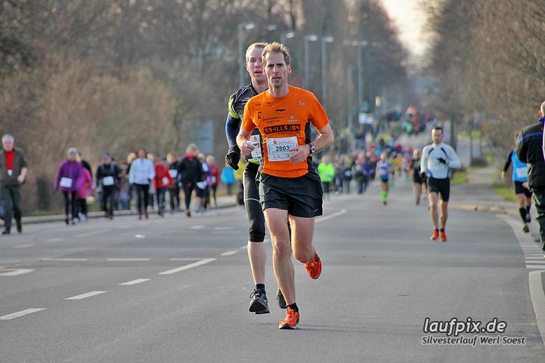 Silvesterlauf Werl Soest - Strecke 2013 - 58