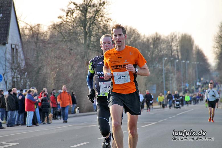 Silvesterlauf Werl Soest - Strecke 2013 - 59