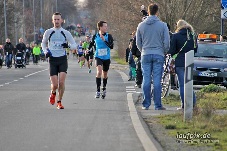 Silvesterlauf Werl Soest - Strecke 2013 - 60