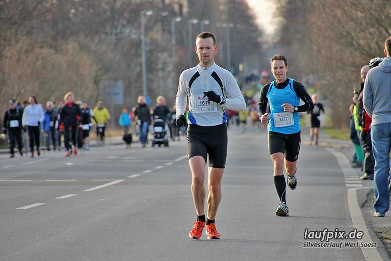 Silvesterlauf Werl Soest - Strecke 2013 - 61