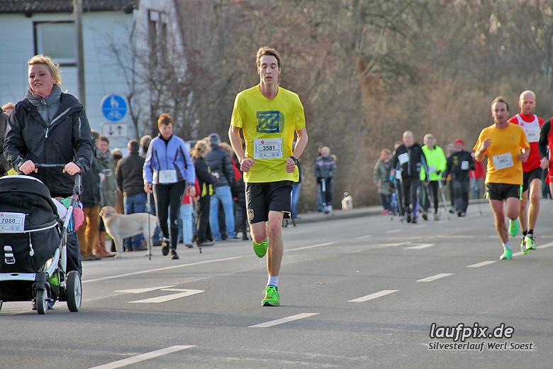 Silvesterlauf Werl Soest - Strecke 2013 - 73