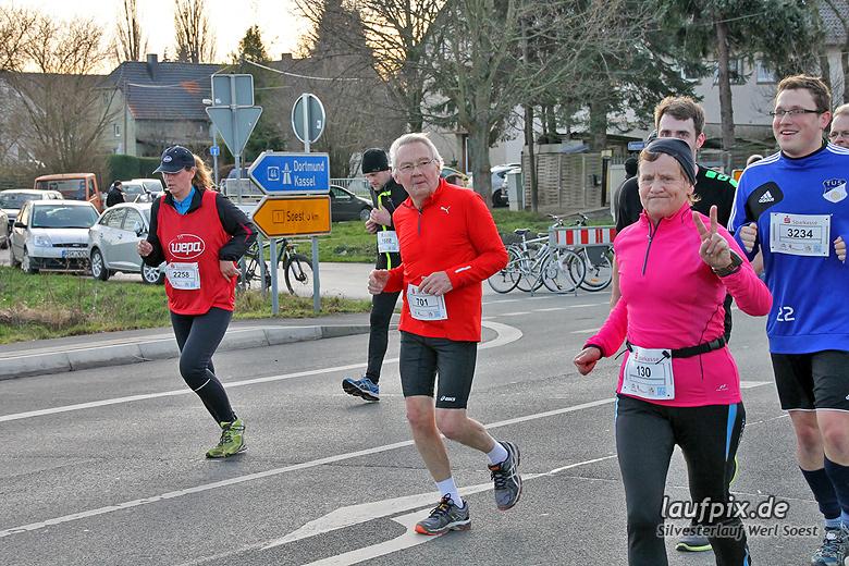 Silvesterlauf Werl Soest - Strecke 2013 - 1092