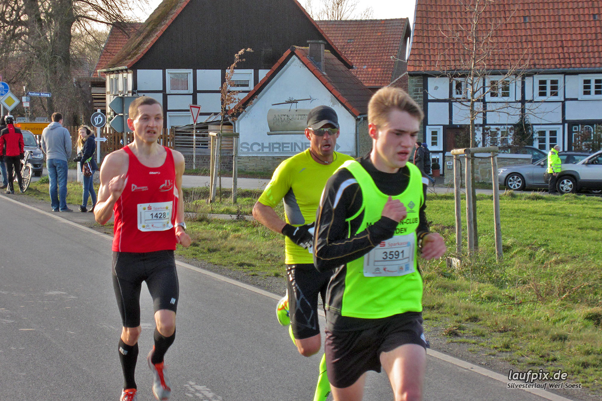 Silvesterlauf Werl Soest - Strecke 2013 Foto (7)