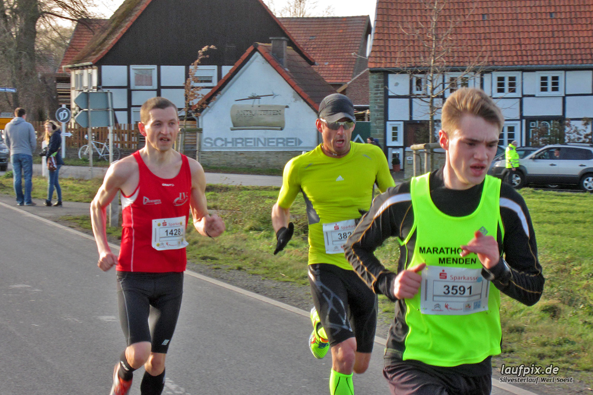 Silvesterlauf Werl Soest - Strecke 2013 - 8
