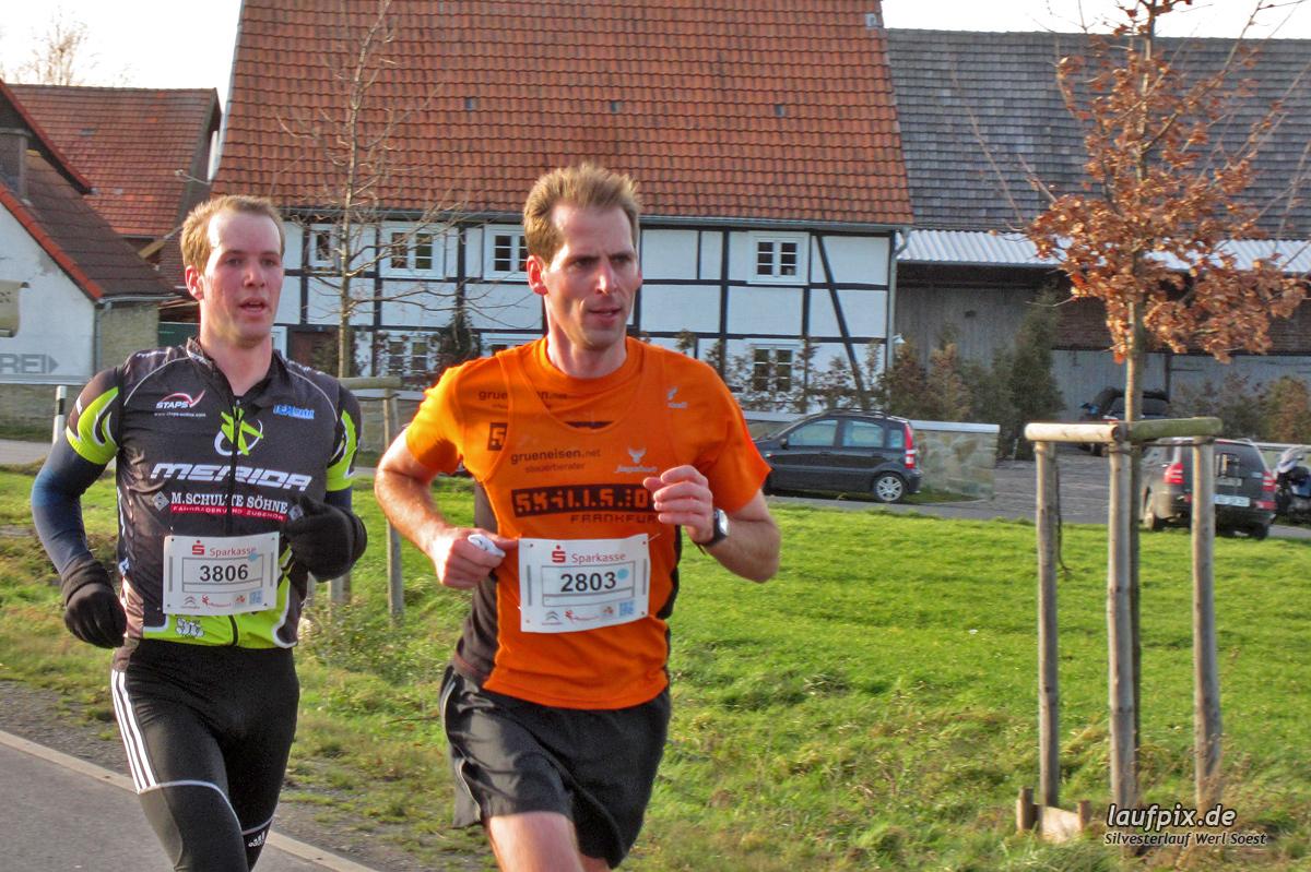 Silvesterlauf Werl Soest - Strecke 2013 Foto (14)