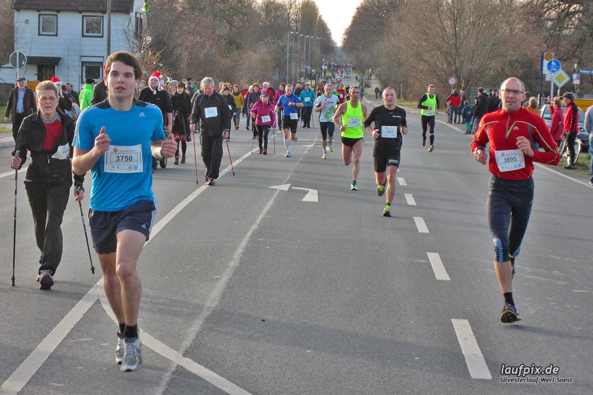 Silvesterlauf Werl Soest - Strecke 2013 Foto (48)