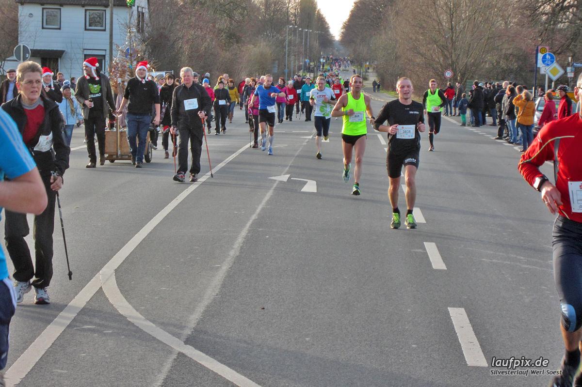 Silvesterlauf Werl Soest - Strecke 2013 Foto (51)