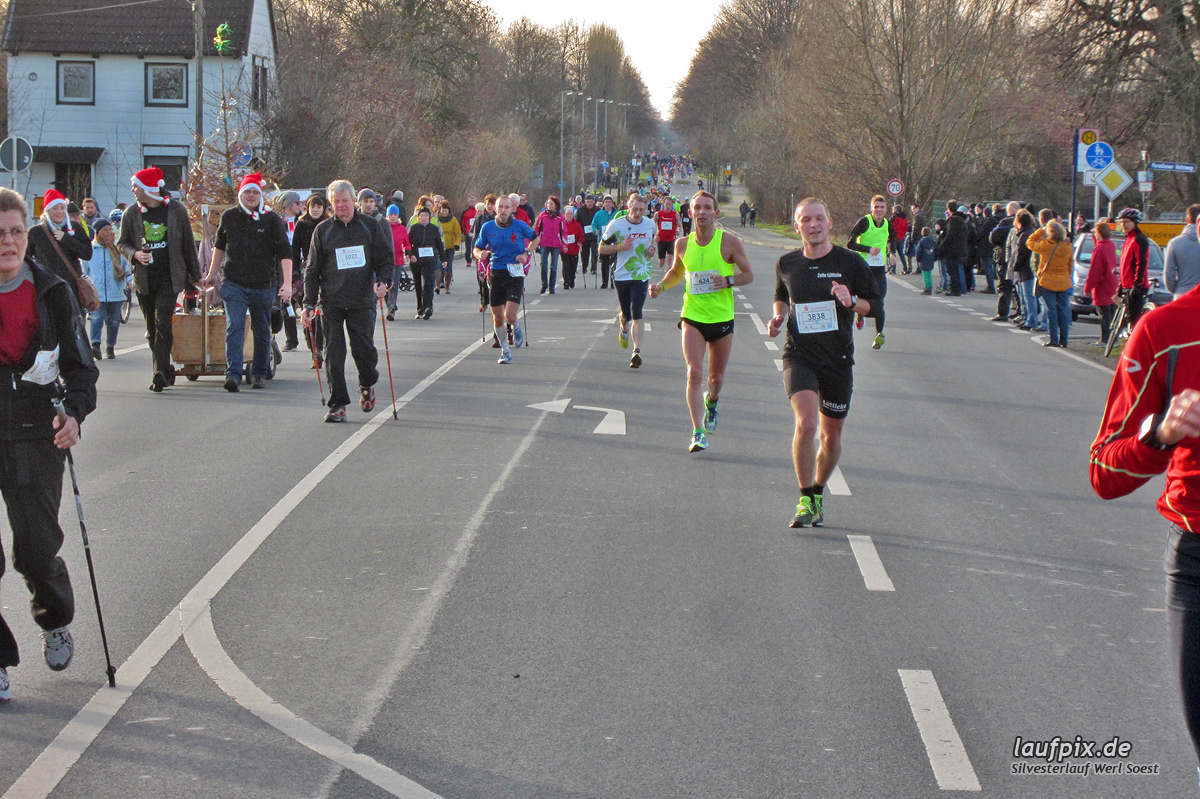 Silvesterlauf Werl Soest - Strecke 2013 Foto (52)
