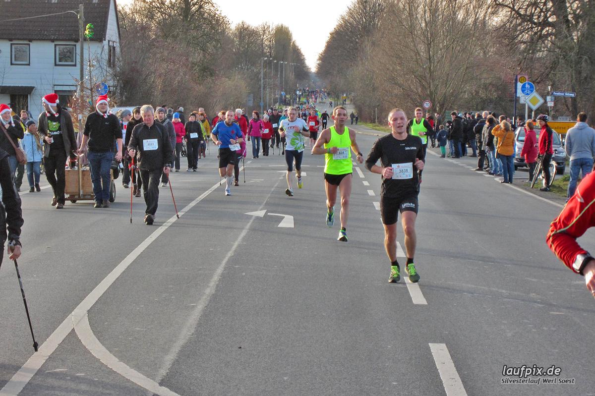 Silvesterlauf Werl Soest - Strecke 2013 Foto (53)