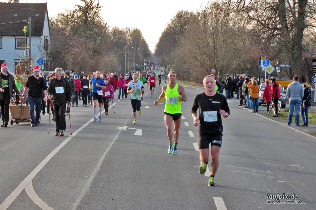 Silvesterlauf Werl Soest - Strecke 2013 Foto (56)