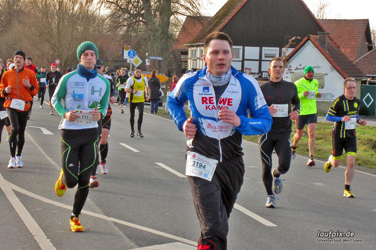 Silvesterlauf Werl Soest - Strecke 2013 Foto (254)