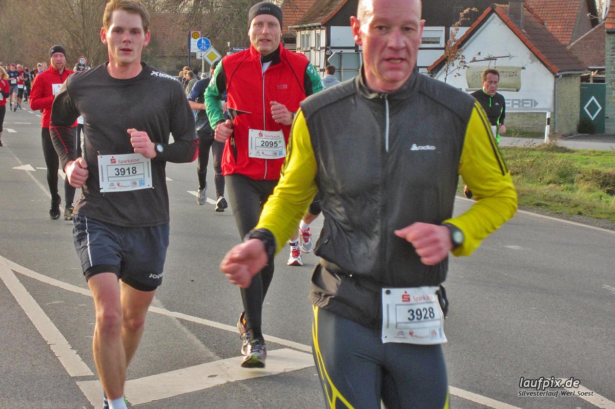 Silvesterlauf Werl Soest - Strecke 2013 - 276