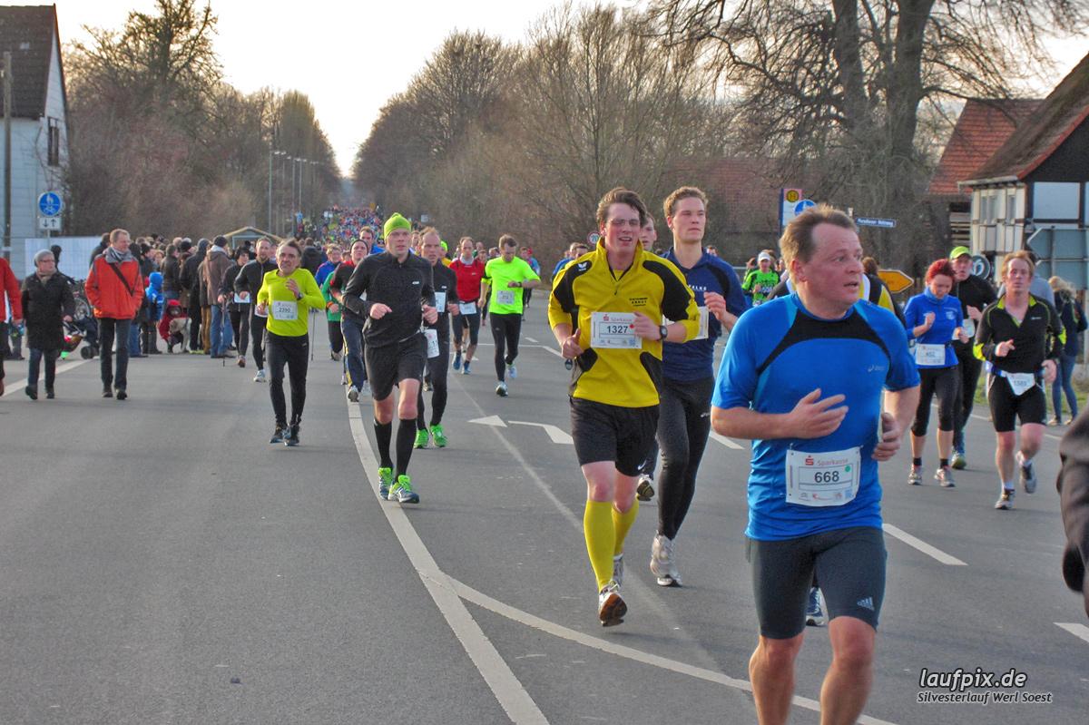Silvesterlauf Werl Soest - Strecke 2013 - 361