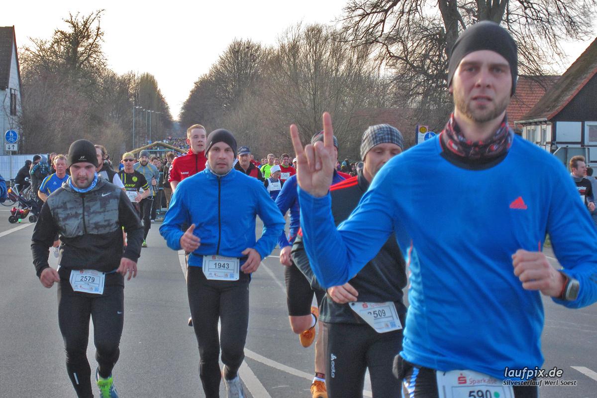 Silvesterlauf Werl Soest - Strecke 2013 Foto (456)