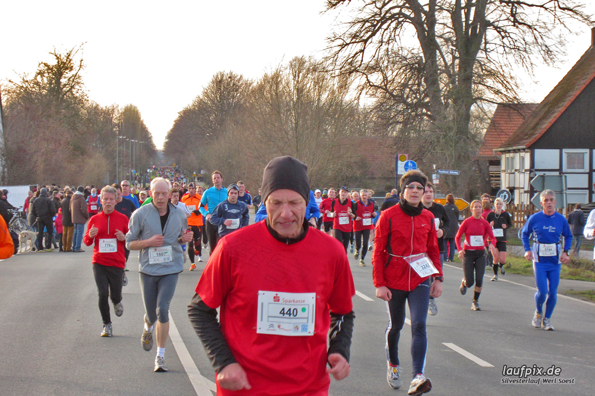 Silvesterlauf Werl Soest - Strecke 2013 - 555