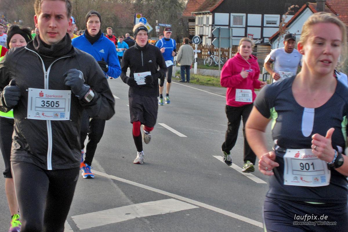 Silvesterlauf Werl Soest - Strecke 2013 - 683