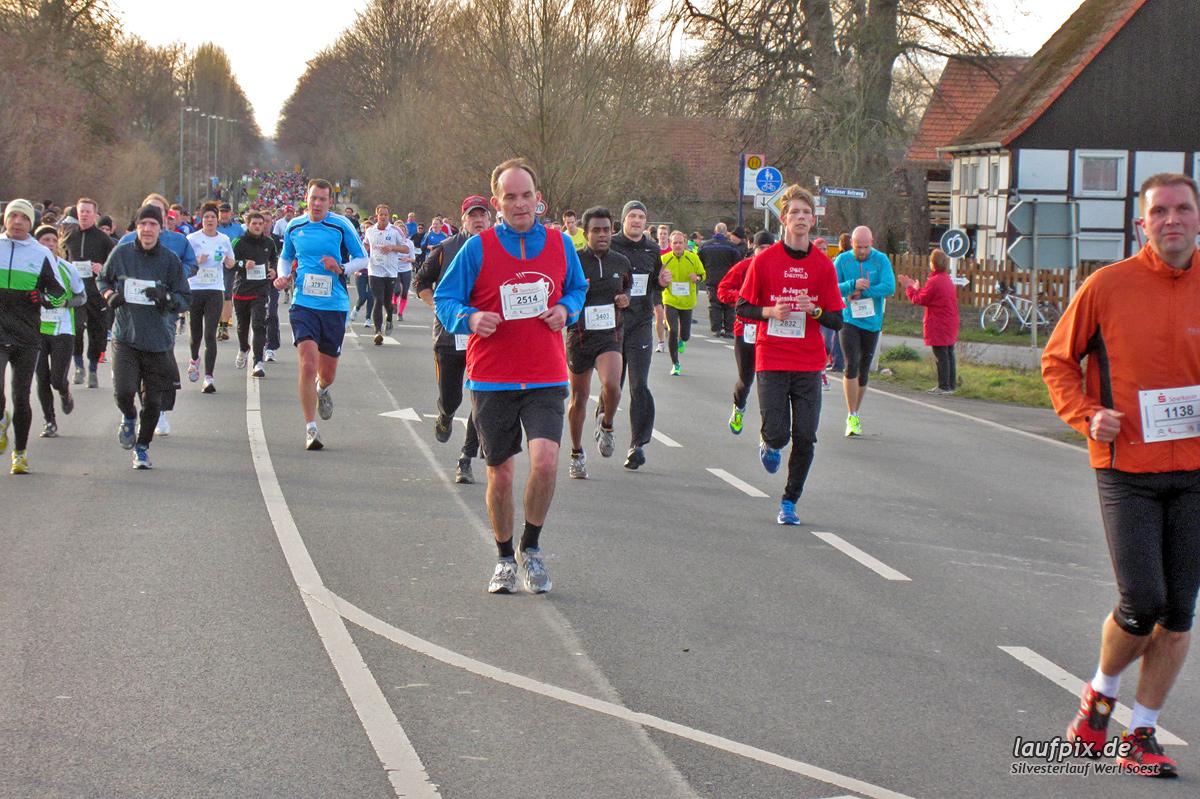 Silvesterlauf Werl Soest - Strecke 2013 - 864