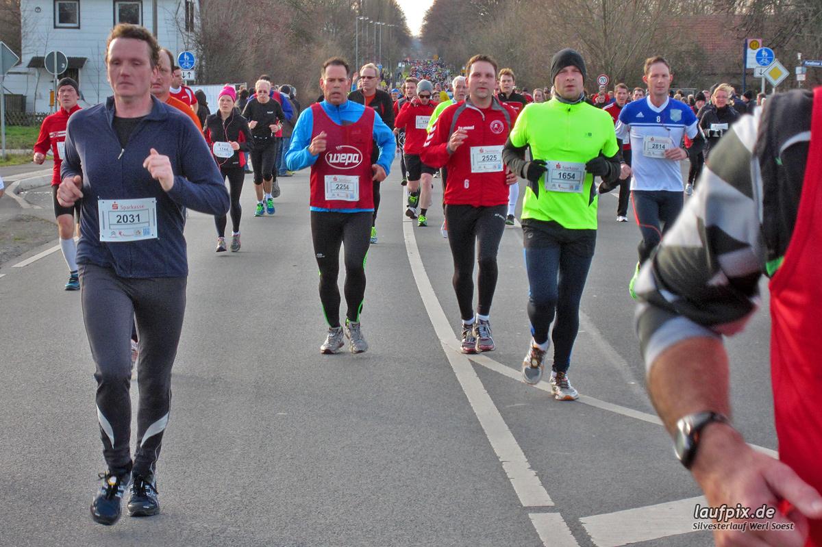 Silvesterlauf Werl Soest - Strecke 2013 - 1061