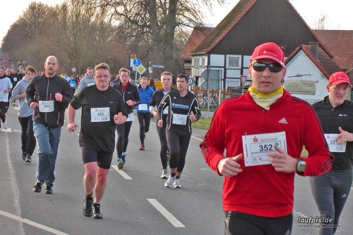 Silvesterlauf Werl Soest - Strecke 2013 - 1192