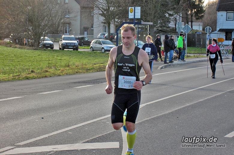 Silvesterlauf Werl Soest - Strecke 2013 - 2