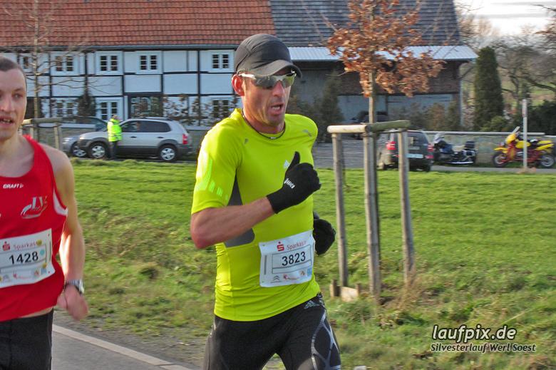 Silvesterlauf Werl Soest - Strecke 2013 - 11