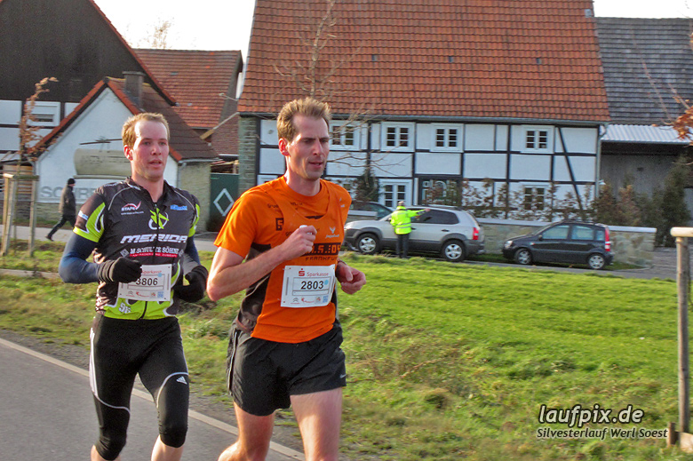 Silvesterlauf Werl Soest - Strecke 2013 - 13