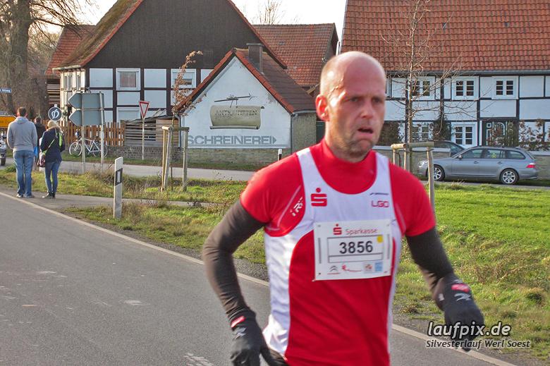 Silvesterlauf Werl Soest - Strecke 2013 - 29