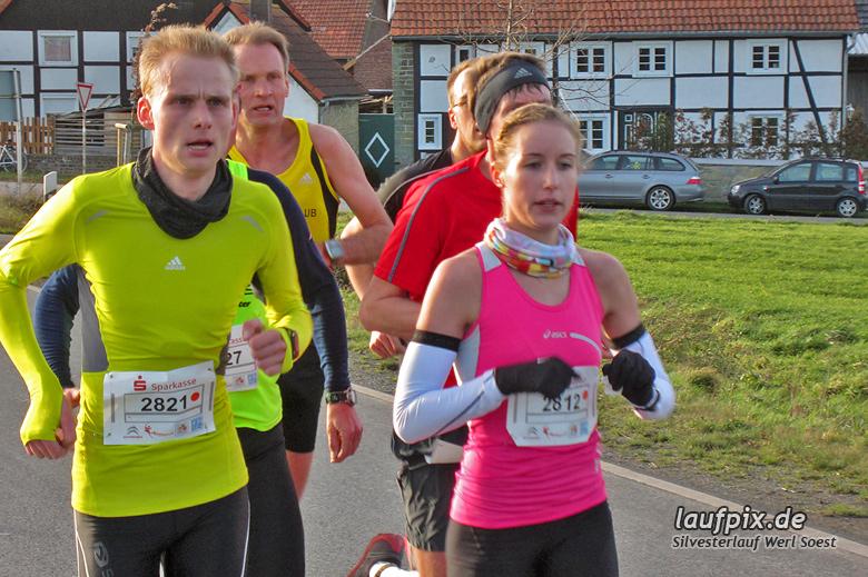 Silvesterlauf Werl Soest - Strecke 2013 - 45