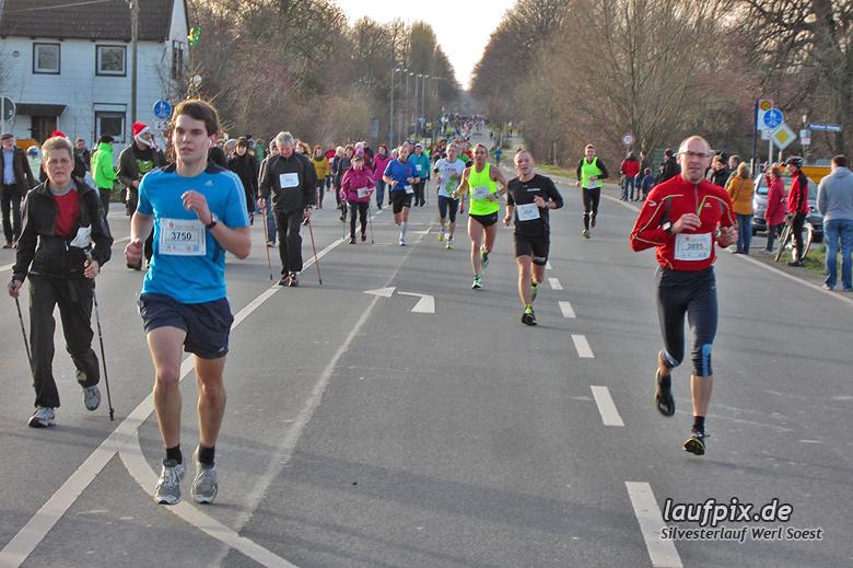 Silvesterlauf Werl Soest - Strecke 2013 - 47