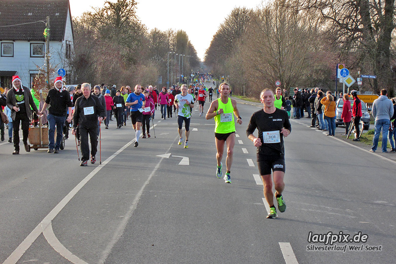 Silvesterlauf Werl Soest - Strecke 2013 - 55