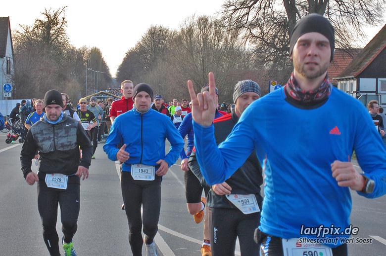Silvesterlauf Werl Soest - Strecke 2013 - 456