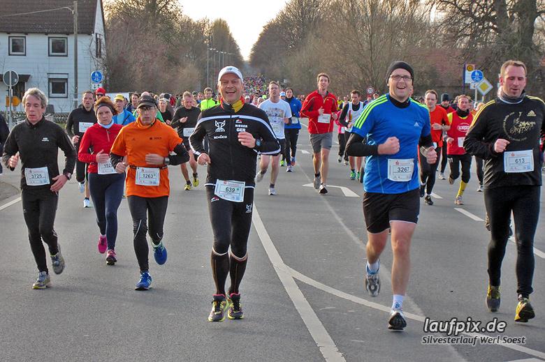 Silvesterlauf Werl Soest - Strecke 2013 - 660