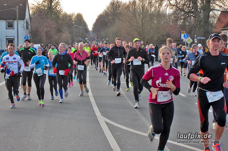 Silvesterlauf Werl Soest - Strecke 2013 - 1010