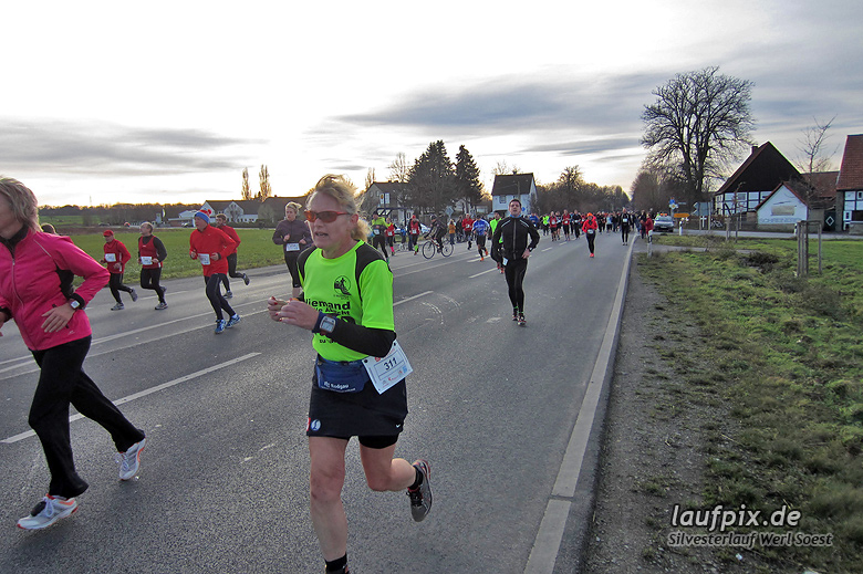 Silvesterlauf Werl Soest - Strecke 2013 - 1376