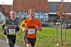 Silvesterlauf Werl Soest - Strecke 2013 - 14
