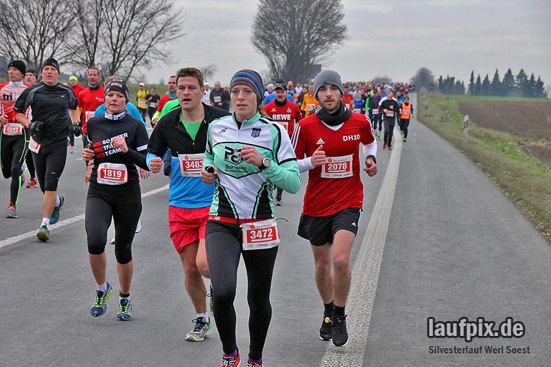 Silvesterlauf Werl Soest 2016